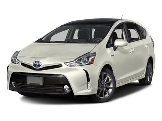 Blizzard Pearl 2016 Toyota Prius v Pictures Prius v Liftback 5D v Five I4 Hybrid photos front view