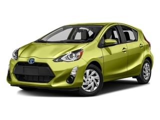 Electric Lime Metallic 2016 Toyota Prius c Pictures Prius c Liftback 5D c I4 Hybrid photos front view