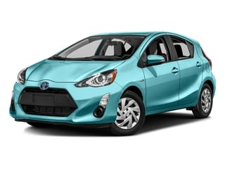 Sparkling Sea Metallic 2016 Toyota Prius c Pictures Prius c Liftback 5D c I4 Hybrid photos front view