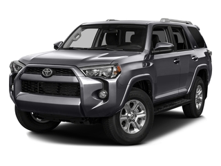 Magnetic Gray Metallic 2016 Toyota 4Runner Pictures 4Runner Utility 4D SR5 2WD V6 photos front view