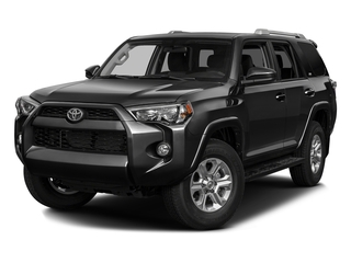 Midnight Black Metallic 2016 Toyota 4Runner Pictures 4Runner Utility 4D SR5 2WD V6 photos front view
