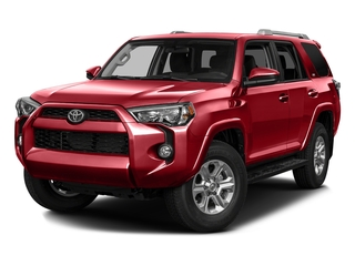 Barcelona Red Metallic 2016 Toyota 4Runner Pictures 4Runner Utility 4D SR5 2WD V6 photos front view