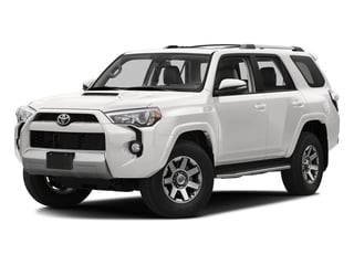 Super White 2016 Toyota 4Runner Pictures 4Runner Utility 4D Trail Edition 4WD V6 photos front view