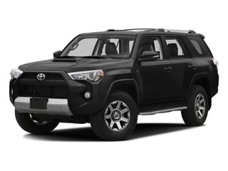 Midnight Black Metallic 2016 Toyota 4Runner Pictures 4Runner Utility 4D Trail Edition 4WD V6 photos front view