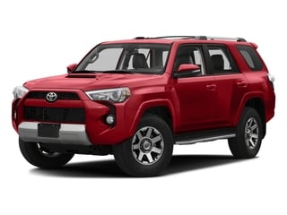 Barcelona Red Metallic 2016 Toyota 4Runner Pictures 4Runner Utility 4D Trail Edition 4WD V6 photos front view