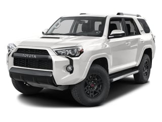 Super White 2016 Toyota 4Runner Pictures 4Runner Utility 4D TRD Pro 4WD V6 photos front view