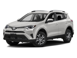 Super White 2016 Toyota RAV4 Pictures RAV4 Utility 4D LE 2WD I4 photos front view