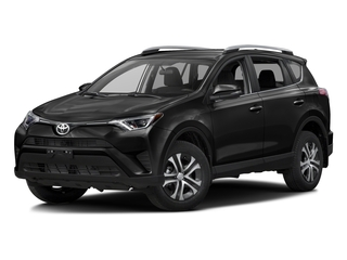Black 2016 Toyota RAV4 Pictures RAV4 Utility 4D LE 2WD I4 photos front view