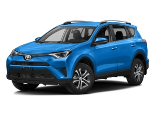 Electric Storm Blue 2016 Toyota RAV4 Pictures RAV4 Utility 4D LE 2WD I4 photos front view