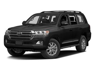 Midnight Black Metallic 2016 Toyota Land Cruiser Pictures Land Cruiser Utility 4D 4WD V8 photos front view
