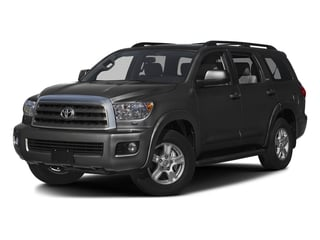 Magnetic Gray Metallic 2016 Toyota Sequoia Pictures Sequoia Utility 4D SR5 2WD V8 photos front view