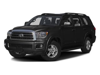 Black 2016 Toyota Sequoia Pictures Sequoia Utility 4D SR5 2WD V8 photos front view