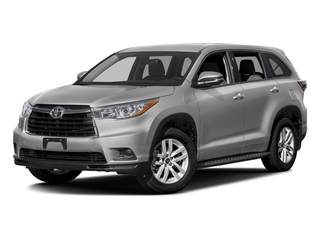 Silver Sky Metallic 2016 Toyota Highlander Pictures Highlander Utility 4D LE 2WD I4 photos front view