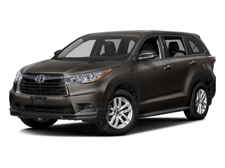 Predawn Gray Mica 2016 Toyota Highlander Pictures Highlander Utility 4D LE 2WD I4 photos front view