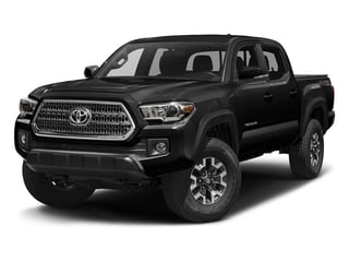 Black 2016 Toyota Tacoma Pictures Tacoma TRD Off-Road Crew Cab 2WD V6 photos front view
