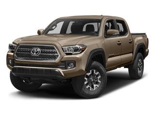 Quicksand 2016 Toyota Tacoma Pictures Tacoma TRD Off-Road Crew Cab 2WD V6 photos front view