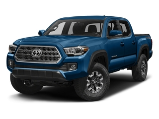 Blazing Blue Pearl 2016 Toyota Tacoma Pictures Tacoma TRD Off-Road Crew Cab 2WD V6 photos front view