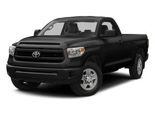 Black 2016 Toyota Tundra 4WD Truck Pictures Tundra 4WD Truck SR 4WD photos front view