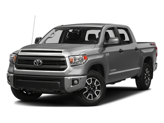 Silver Sky Metallic 2016 Toyota Tundra 2WD Truck Pictures Tundra 2WD Truck SR5 CrewMax 2WD photos front view