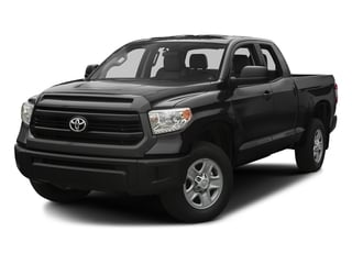 Black 2016 Toyota Tundra 2WD Truck Pictures Tundra 2WD Truck SR Double Cab 2WD photos front view