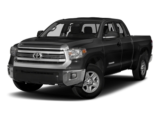 Black 2016 Toyota Tundra 4WD Truck Pictures Tundra 4WD Truck SR5 Double Cab 4WD photos front view