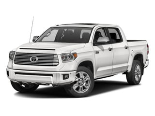 Super White 2016 Toyota Tundra 2WD Truck Pictures Tundra 2WD Truck Platinum CrewMax 2WD photos front view