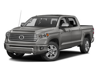 Silver Sky Metallic 2016 Toyota Tundra 2WD Truck Pictures Tundra 2WD Truck Platinum CrewMax 2WD photos front view