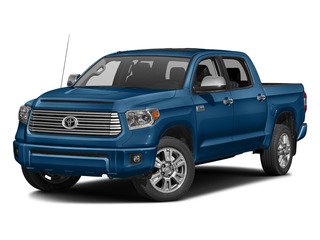 Blazing Blue Pearl 2016 Toyota Tundra 2WD Truck Pictures Tundra 2WD Truck Platinum CrewMax 2WD photos front view
