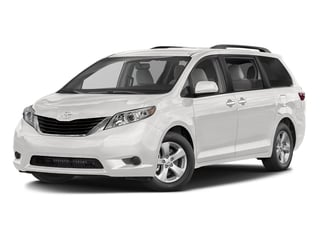Super White 2016 Toyota Sienna Pictures Sienna Wagon 5D LE V6 photos front view