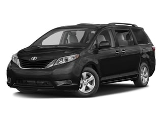 Midnight Black Metallic 2016 Toyota Sienna Pictures Sienna Wagon 5D LE V6 photos front view