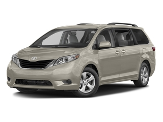 Creme Brulee Mica 2016 Toyota Sienna Pictures Sienna Wagon 5D LE AWD V6 photos front view
