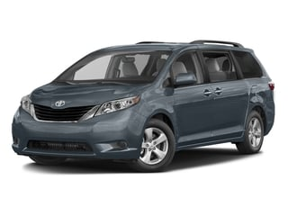 Shoreline Blue Pearl 2016 Toyota Sienna Pictures Sienna Wagon 5D LE V6 photos front view