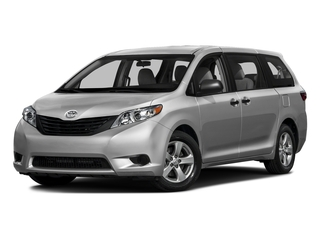 Silver Sky Metallic 2016 Toyota Sienna Pictures Sienna Wagon 5D L V6 photos front view