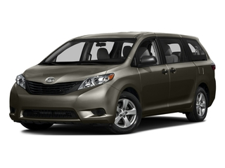 Predawn Gray Mica 2016 Toyota Sienna Pictures Sienna Wagon 5D L V6 photos front view