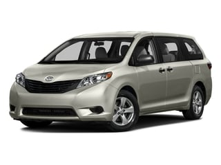 Creme Brulee Mica 2016 Toyota Sienna Pictures Sienna Wagon 5D L V6 photos front view