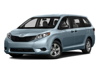 Sky Blue Pearl 2016 Toyota Sienna Pictures Sienna Wagon 5D L V6 photos front view