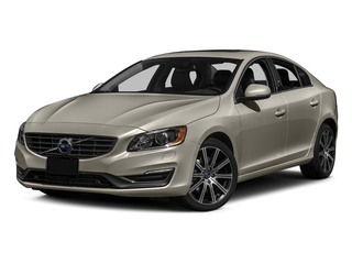 Seashell Metallic 2016 Volvo S60 Pictures S60 Sedan 4D T6 Platinum Drive-E Turbo photos front view
