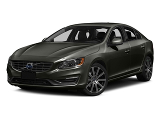 Savile Gray Metallic 2016 Volvo S60 Pictures S60 Sedan 4D T6 Platinum Drive-E Turbo photos front view
