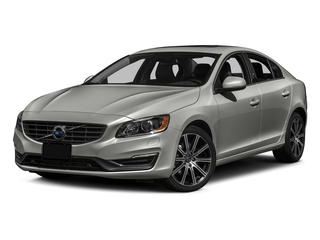 Bright Silver Metallic 2016 Volvo S60 Pictures S60 Sedan 4D T6 Platinum Drive-E Turbo photos front view