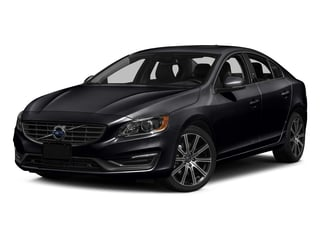 Onyx Black Metallic 2016 Volvo S60 Pictures S60 Sedan 4D T6 Platinum Drive-E Turbo photos front view