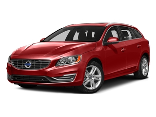 Flamenco Red Metallic 2016 Volvo V60 Pictures V60 Wagon 4D T5 Premier AWD Turbo photos front view