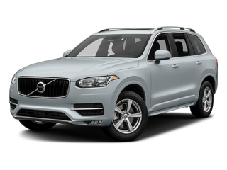 Ice White 2016 Volvo XC90 Pictures XC90 Util 4D T5 Momentum AWD I4 Turbo photos front view