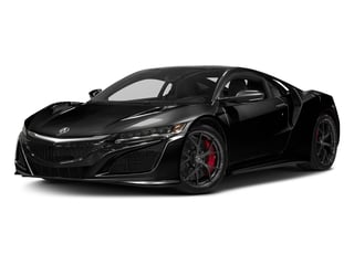 Berlina Black 2017 Acura NSX Pictures NSX Coupe 2D AWD V6 Hybrid Turbo photos front view