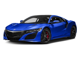 Nouvelle Blue Pearl 2017 Acura NSX Pictures NSX Coupe 2D AWD V6 Hybrid Turbo photos front view