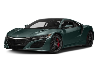 Nord Gray Metallic 2017 Acura NSX Pictures NSX Coupe 2D AWD V6 Hybrid Turbo photos front view