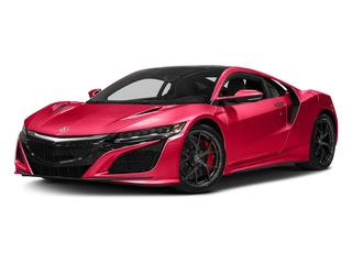 Curva Red 2017 Acura NSX Pictures NSX Coupe 2D AWD V6 Hybrid Turbo photos front view