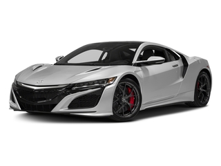 Source Silver Metallic 2017 Acura NSX Pictures NSX Coupe 2D AWD V6 Hybrid Turbo photos front view
