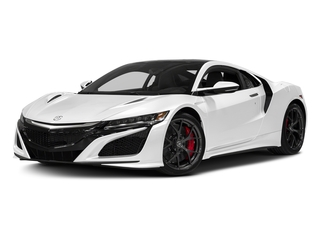 130R White 2017 Acura NSX Pictures NSX Coupe 2D AWD V6 Hybrid Turbo photos front view