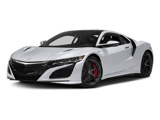 Casino White Pearl 2017 Acura NSX Pictures NSX Coupe 2D AWD V6 Hybrid Turbo photos front view