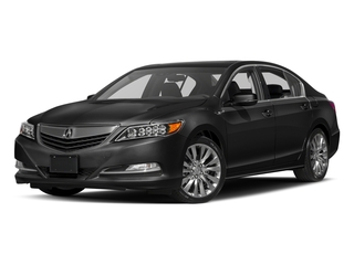 Crystal Black Pearl 2017 Acura RLX Pictures RLX Sedan w/Technology Pkg photos front view